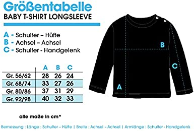 EZYshirt/® Alles Gute zum Geburtstag Opa T-Shirt Baby Langarm Bio Baumwolle