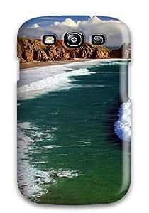 AERO Jose Aquino's Shop Anti-scratch And Shatterproof Waves Phone Case For Galaxy S3/ High Quality Tpu Case