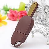 16GB USB2.0 Chocolate Ice Cream Model Flash Drive Memory U Disk
