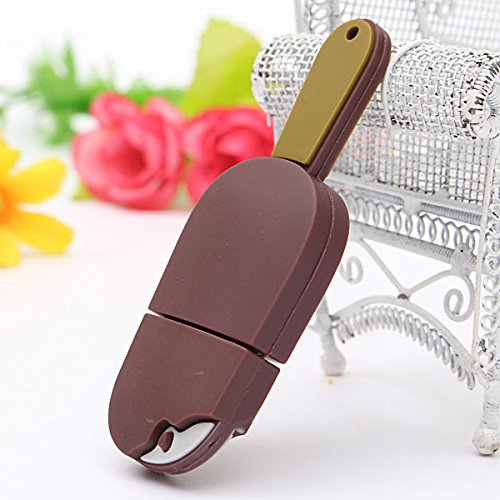 16GB USB2.0 Chocolate Ice Cream Model Flash Drive Memory U Disk