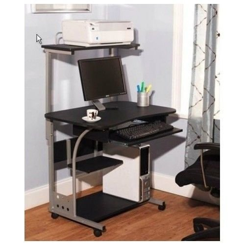 ure Storage Organizer CPU Shelf Study Desk Workstation ()
