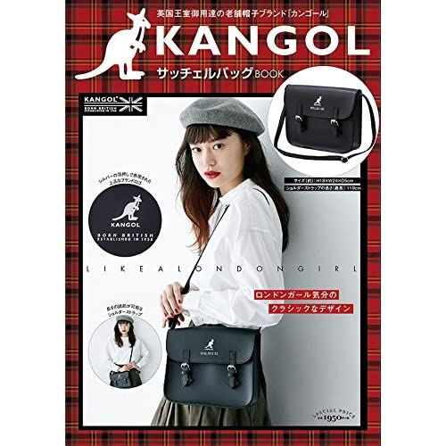 KANGOL ZATCHELS BAG BOOK 画像 A