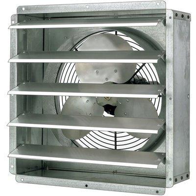 Triangle Fans Direct-Drive General-Purpose Exhaust Fan - 24in., 1/2 HP