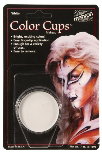 COLOR CUP CARDED CLWN WHITE by Mehron