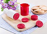 Cookie Cutters 6-Piece 3D Christmas Cookie Stamps