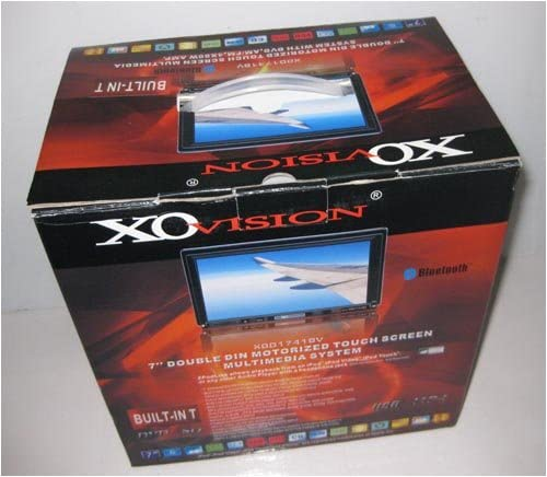 XO Vision XOD1735NT 7-Inch In-Dash Wide Touch Screen Fully Motorized Double Din DVD//CD//MP3 Receiver with USB//SD Inputs