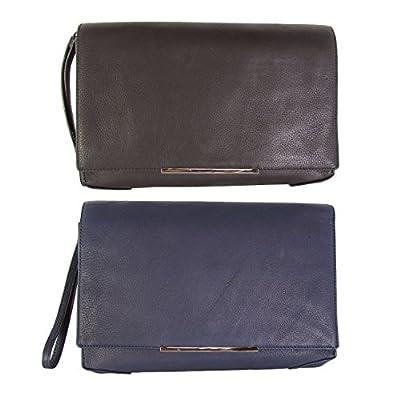 Kenneth Cole New York Womens Mercer Street Clutch Bag