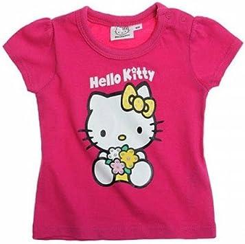 Camiseta camisa de punto bebé recién nacido rosa de Hello Kitty 3 m: Amazon.es: Salud y cuidado personal