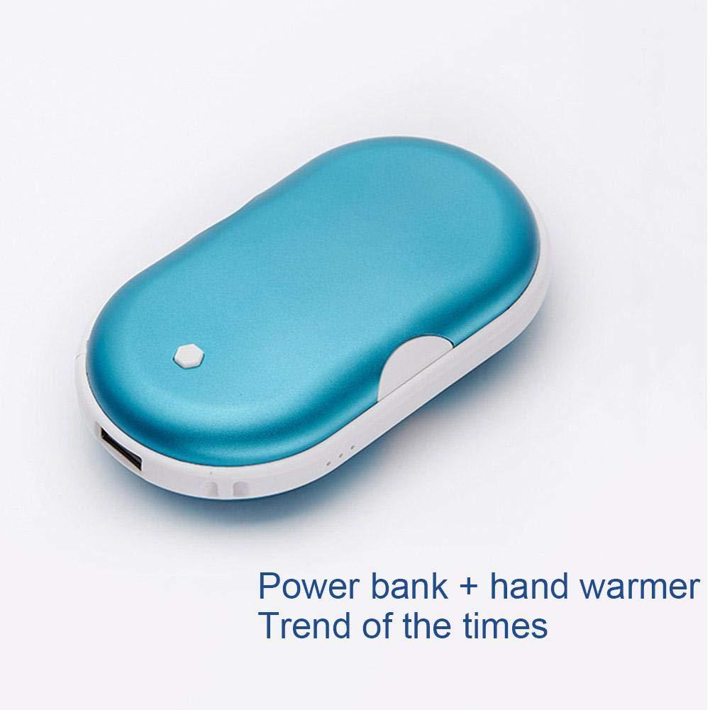 miraculocy Calentador de Mano Recargable USB 5200 mAh Calentador de Mano port/átil de energ/ía m/óvil de energ/ía m/óvil Terapia de Calor Ideal para los Enfermos artr/íticos de Raynaud Alivio del Dolor