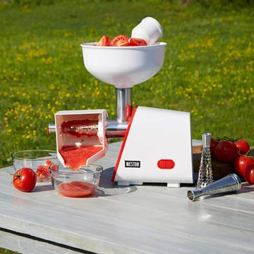 Deluxe Electric Tomato Strainer