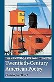 The Cambridge Introduction to Twentieth-Century American Poetry (Cambridge Introductions to Literature)