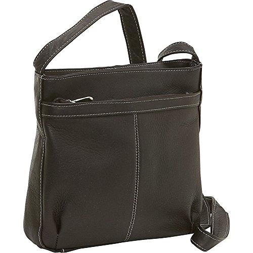 le-donne-leather-shoulder-bag-w-exterior-zip-pocket-cafe