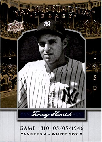 2008 Upper Deck Yankee Stadium Legacy Collection #1810 Tommy Henrich - NM-MT 1810 Collection