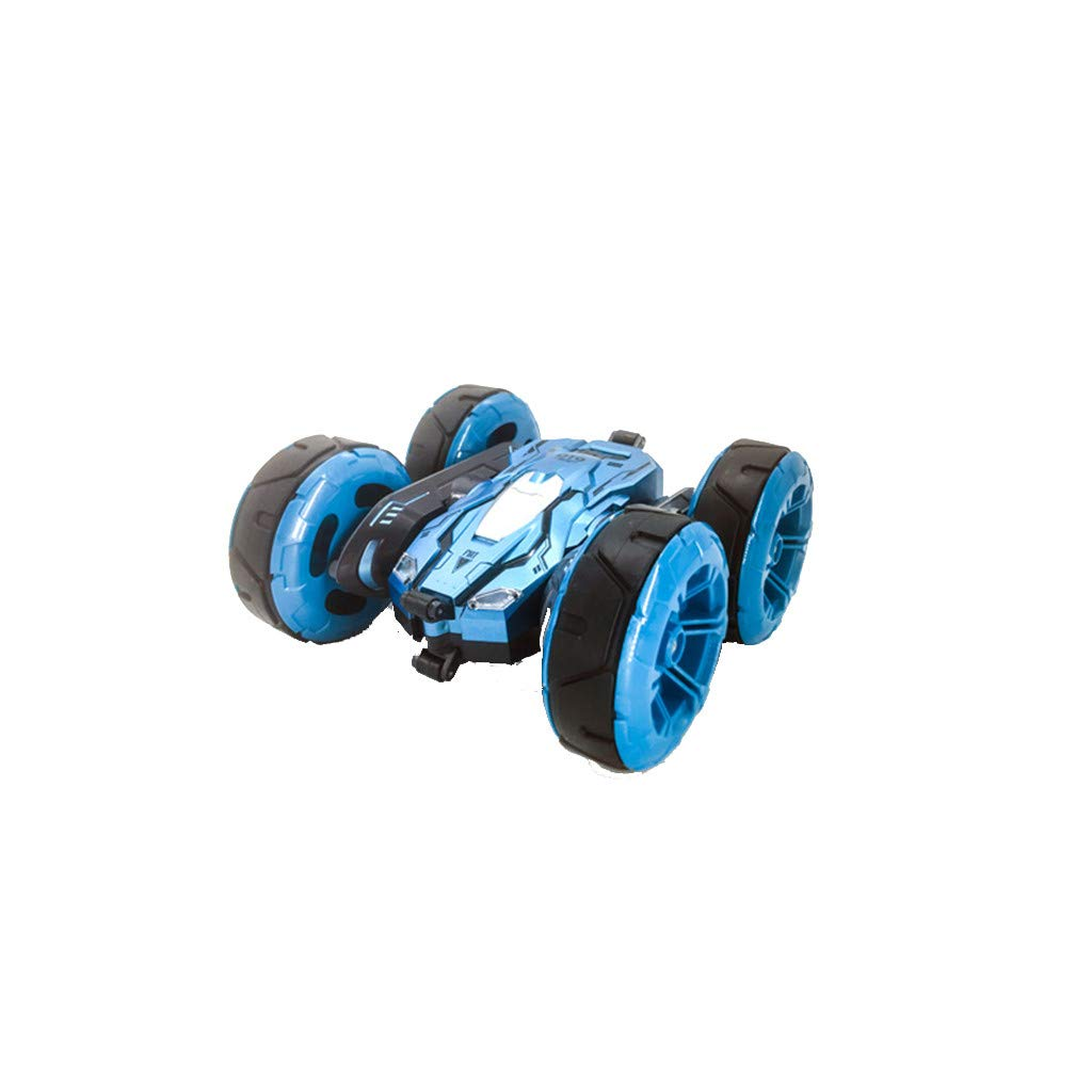 1/24 RC Stunt Car Remote Control 2.4Ghz Off Road Electric Racing Vehicle 360° Spins & Flips Double Sided Car Rotating Tumbling High Speed Rock Crawler Vehicle for Kids