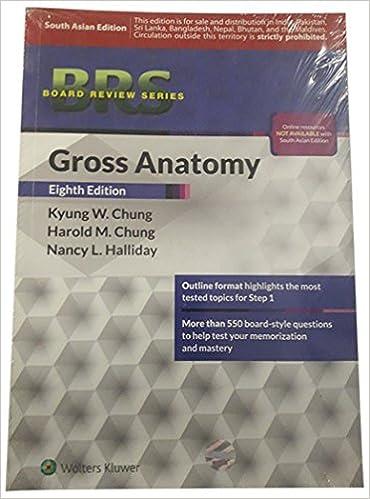 BRS Gross Anatomy: Amazon.in: Chung: Books