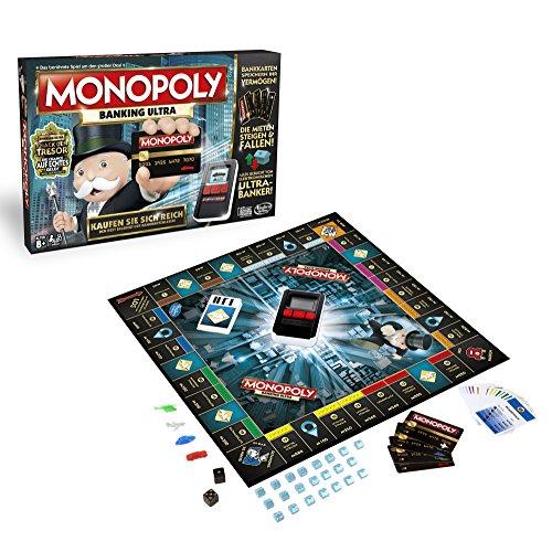 Hasbro Spiele B6677E39 - Banking Ultra, Familienspiel