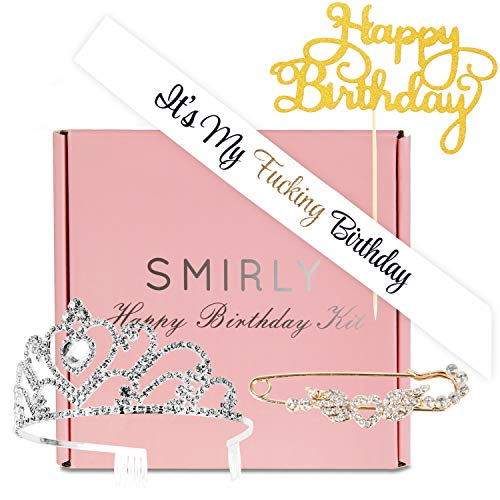 SMIRLY Happy Birthday Kit Party Pack It's My F-ing Birthday