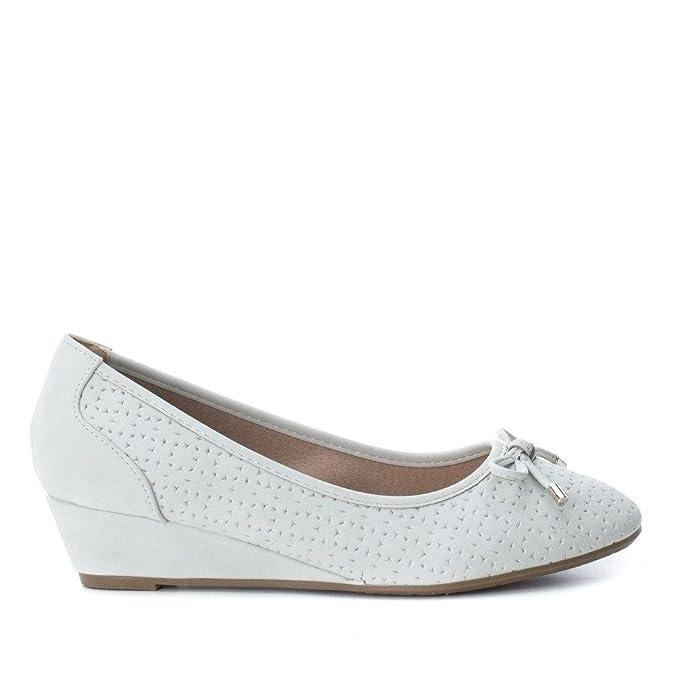 XTI , Damen Ballerinas Himmel, - Himmel - Größe: 37: Amazon.de: Schuhe &  Handtaschen