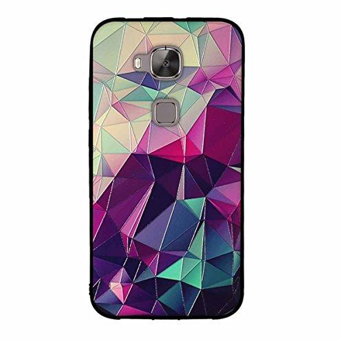 Gift_Source Funda ultrafina para Huawei G8, Huawei G7 Plus, de hule flexible de TPU, parte trasera de Silicona antiarañazos,...