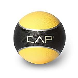 Cap Barbell HHKC-008 Medicine Ball , 8 Pounds (Yellow)