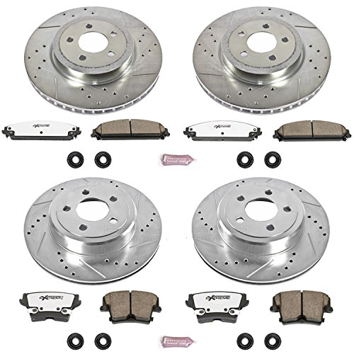 Power Stop K2853-26 1-Click Street Warrior Z26 Brake Kit