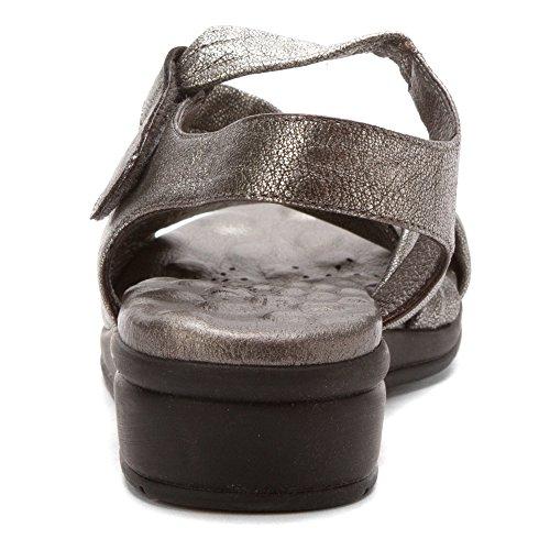 Calze Da Passeggio Da Donna Valerie In Pelle Di Sandalo Con Cinturino In Pelle Di Vacchetta