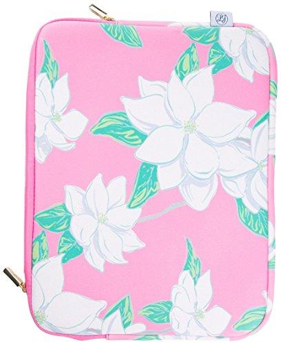 Lauren James Magnolia Laptop Case, Women's Fashion Designer Protective Sleeve for 13'' and  15'' Laptops Fits Regular MacBook and Pro by Lauren James