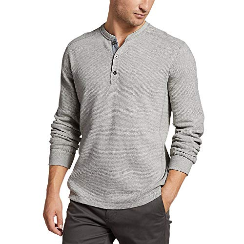 Eddie Bauer Men's Eddie's Favorite Thermal Henley Shirt,