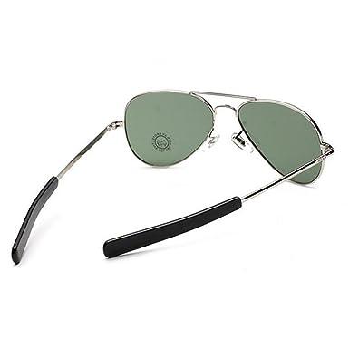 Pilote américain lunettes aviateur baïonnette temples air force les hommes  de l armée uv400 ( e74672eecfb1