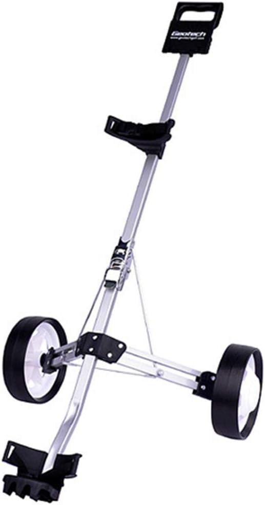 クラブケース 折りたたみ式の2輪プッシュプルゴルフカートゴルフカート回転 持ち運びが簡単