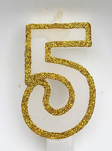 wasiwax-no-5-birthday-candle-gold-glitter-browse-our-store-and-choose-other-numbers