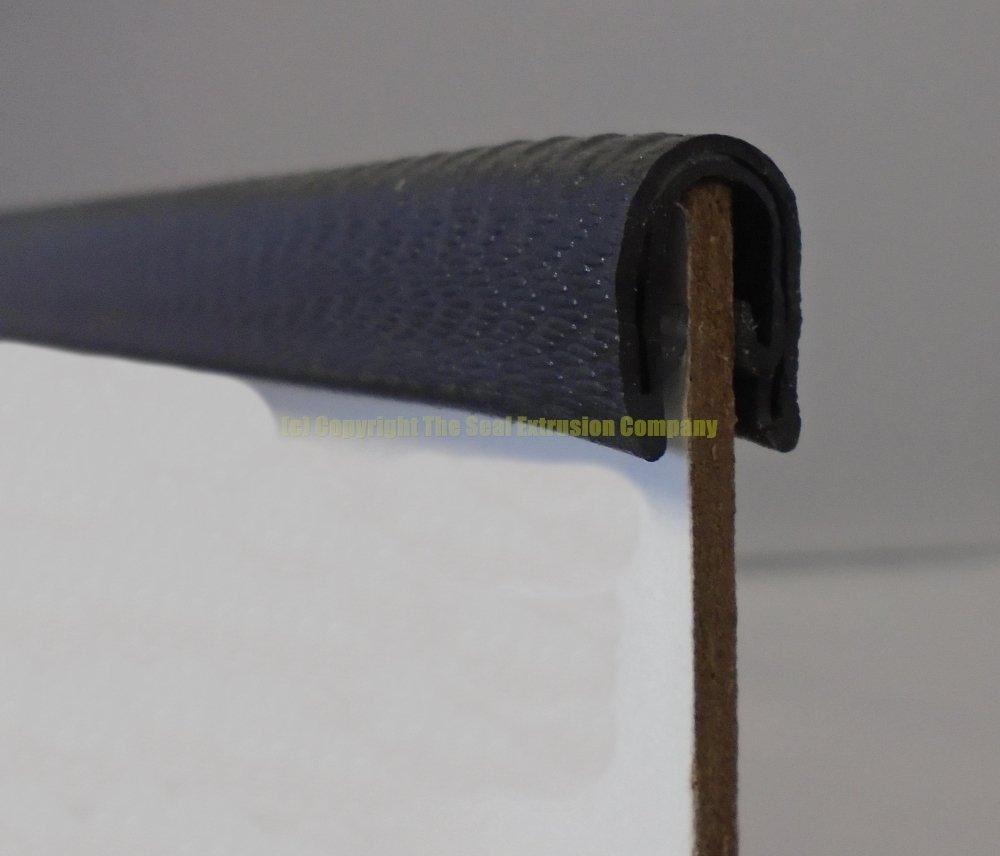 Standard schwarz Gummi-Rand Schutz Radzierblende Radkappe 14/14/mm x 8,5/mm