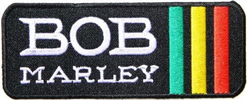 Bob Marley Rasta Reggae Ska música banda Polo camiseta parche ...