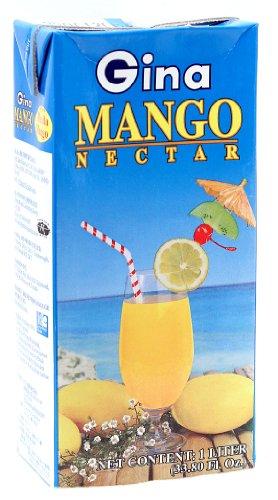Gina Mango Nectar 33.80 fl.oz ()