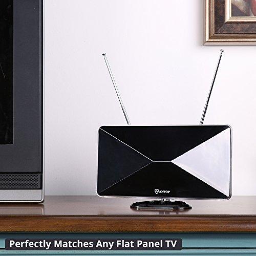 TV Antenna Ring Doorbell, Digital HDTV Indoor 50 Alert System in