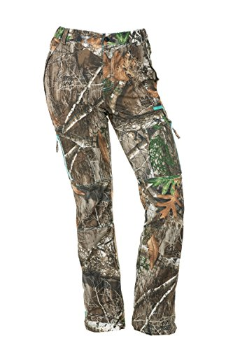 DSG Outerwear Women's Bexley Ripstop Hunting Pant with Realtree Edge Camo (Medium)