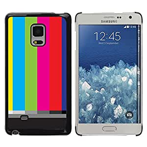 iKiki Tech / Estuche rígido - Old Tv Screen Stripes Art Television Retro - Samsung Galaxy Mega 5.8 9150 9152