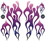 KA Mixer Decal Cover Kit Purple Mix Single Sticker Flame Kit Plum to Purple to White, Designed to Fit All Kitchenaid Stand Mixers, Including Professional 600, and Artisan. Mixer Not Included. For Sale