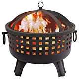 Regal Flame Ouray Backyard Garden Home Light Wood Fire Pit. Perfect for RV, Camping, and Outdoor Fireplace. All you need is Firewood. Works as Patio Heater, Stove or Firebowl without Propane Gas For Sale