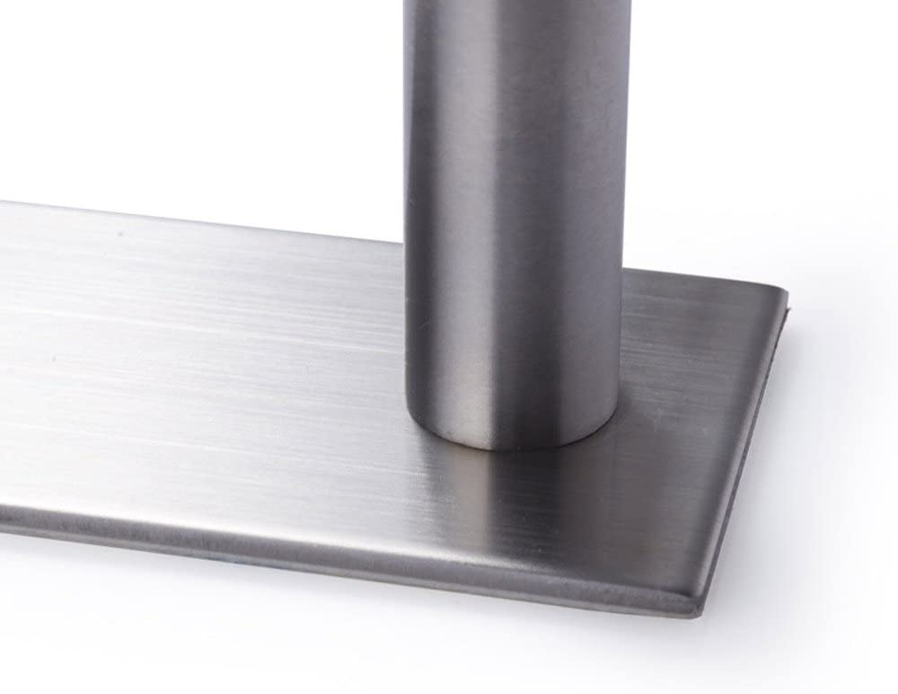 Leyden TM 3M Self Adhesive 16-Inch Stainless Steel Bathroom Single Towel Bar Holder Hanging Rack Brushed Nickel by Leyden