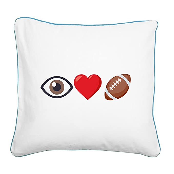 Amazon.com: CafePress – I corazón fútbol Emoji – 20