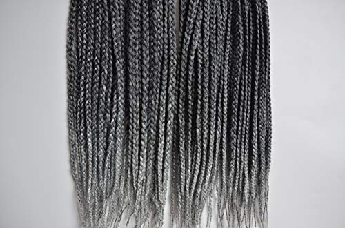 """Leyoo 12"""" Kanekalon Box Braid Crochet Hair (96 Roots/Box) for sale  Delivered anywhere in Canada"""