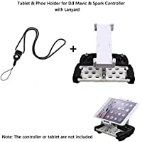 Joint Vcitory Foldable Bracket Extender 5.5-9.7 Inches Tablet Stander Mobile Phone Stand Holder with Lanyard for DJI Mavic and DJI Spark Remote Controller