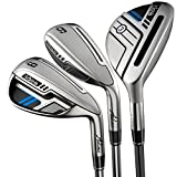 Adams Golf Men's New Idea Iron Set, Right Hand, Graphite, Regular Flex, 3-PW