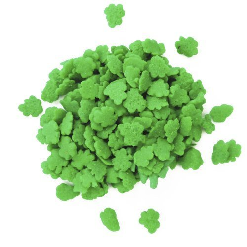 St Patricks Day - Shamrock Shaped Confetti Sprinkles 2oz. package