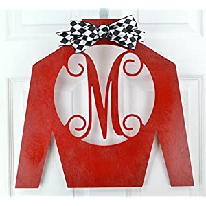 Jockey Silk Monogram | Kentucky Derby Decor | Horse Racing Decoration | MANY COLORS 53
