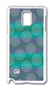 Samsung Note 4 Case,VUTTOO Cover With Photo: Orbital Enchantment For Samsung Galaxy Note 4 / N9100 / Note4 - PC White Hard Case