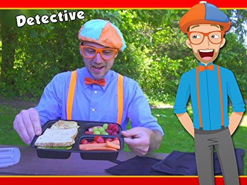 This Is Halloween Cartoon Movie (Detective Blippi Video for Children - Police Videos for)
