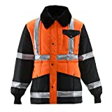 Product review for RefrigiWear HiVis Iron-Tuff Two-Tone Jackoat High Visibility Reflective Jacket