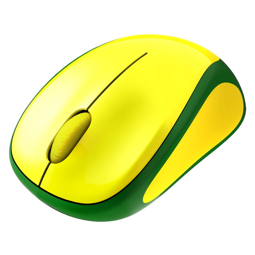 fef74ee0fbc Amazon.com: Logitech Wireless Mouse M317, Brazil Soccer Fan Edition ...